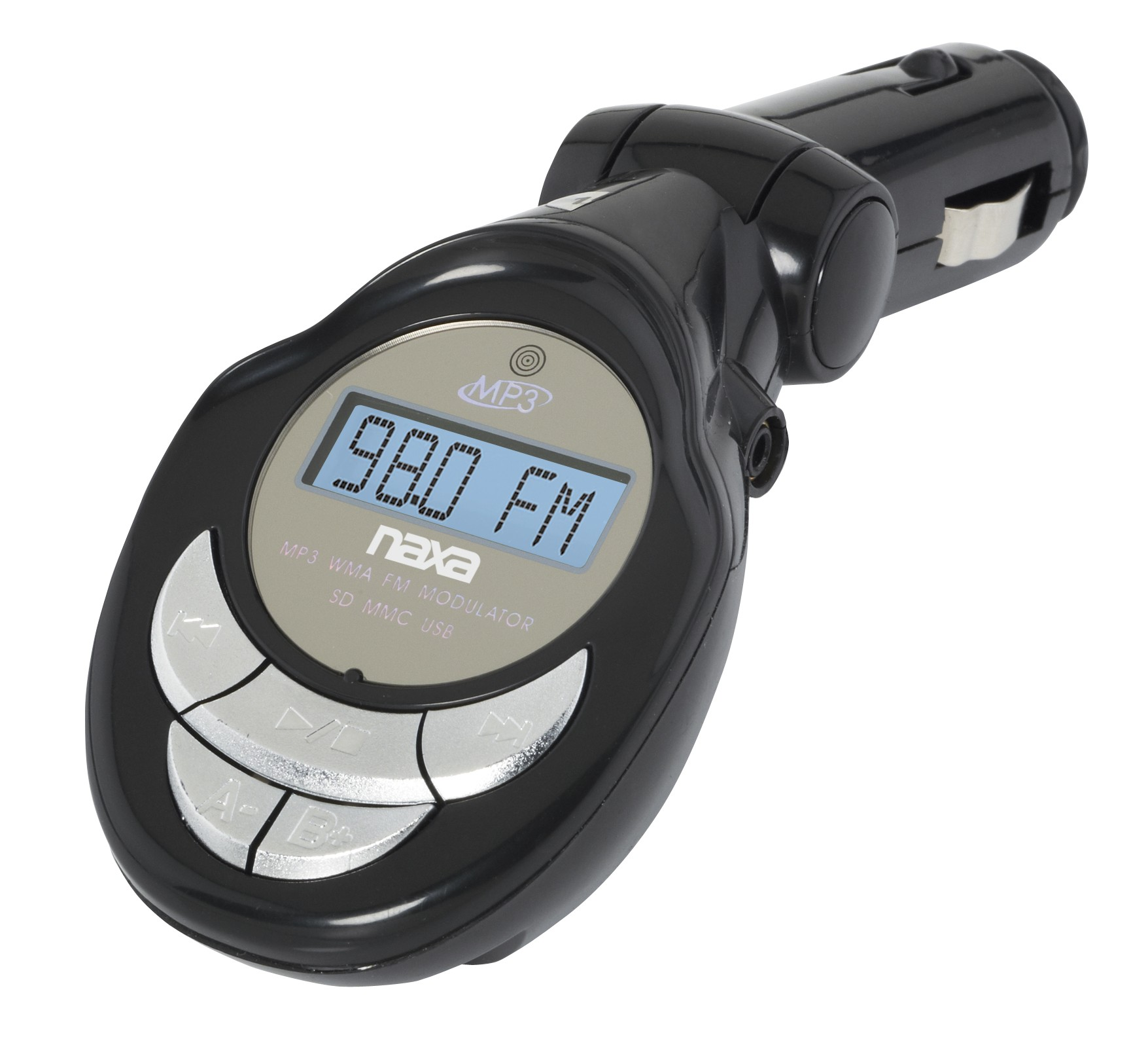 Wireless FM Transmitter for the Car with Built-in MP3 Player