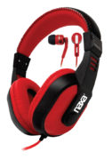 DJZ ULTRA PLUS Headphones + Earphones Combo