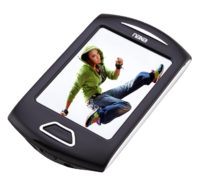 Portable Media Player with 2.8″ Touch Screen, Built-In 8GB Flash Memory, Camera, PLL Digital FM Radio, Speaker & MicroSD Card Slot