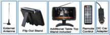 7″ Portable TV & Digital Multimedia Player