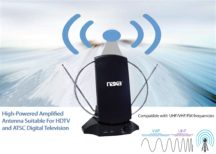 High Powered Amplified Antenna Suitable For HDTV and ATSC Digital Television