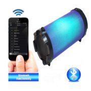 BOOMER IMPULSE FLASH Bluetooth® Boombox with LED Lights