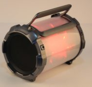 BOOMER IMPULSE FLASHER Bluetooth® Boombox with LED Lights