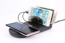 5-in-1 Wireless Fast Charging Station with Qi & 4 USB Ports