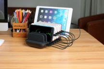 7-Port USB Fast Charging Station