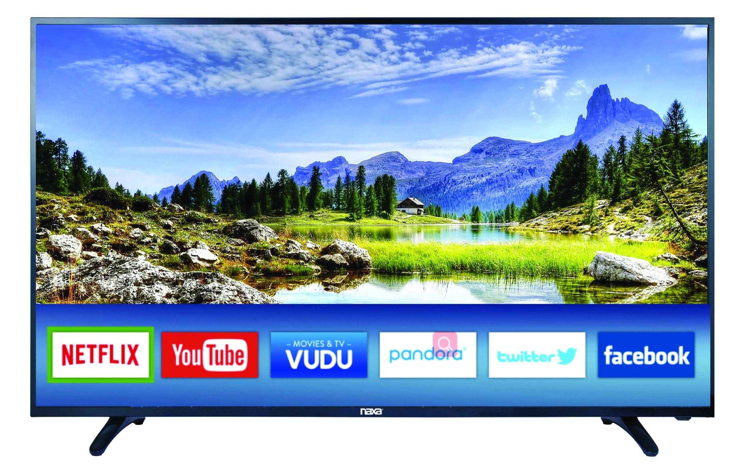 "50"" 4K Smart TV with Netflix"