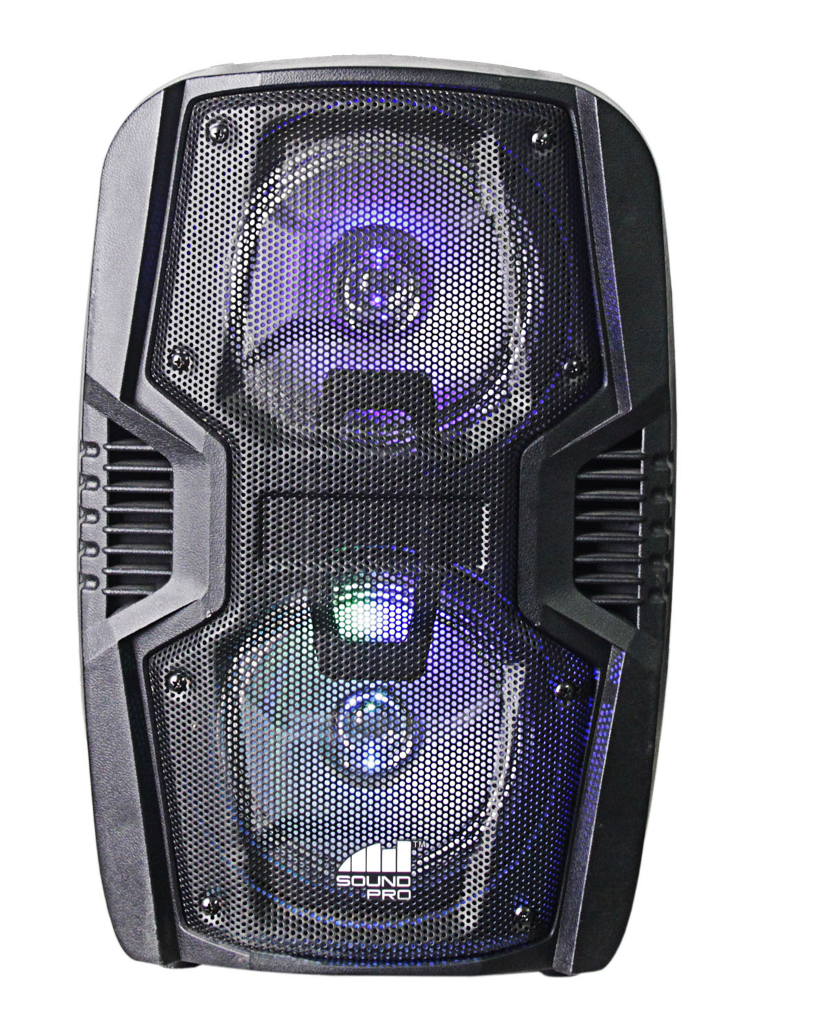 Portable 6.5 Dual Party Speakers & Disco Lights