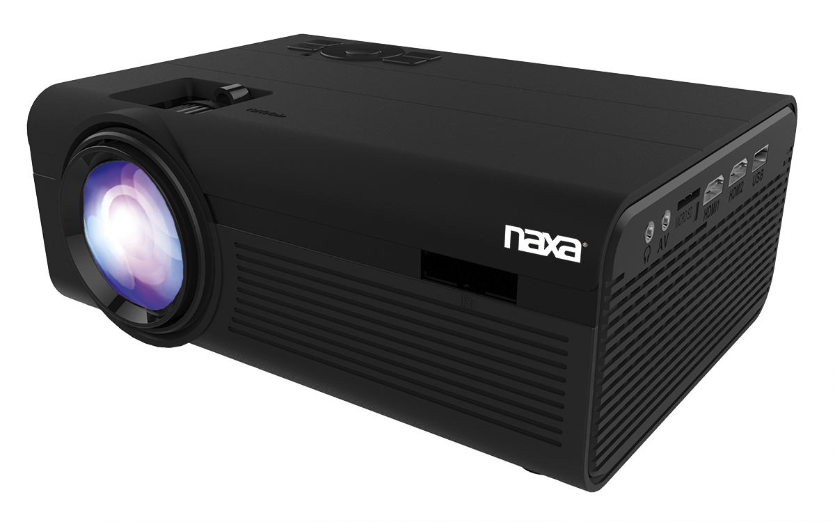 150″ Home Theater 720P LCD Projector
