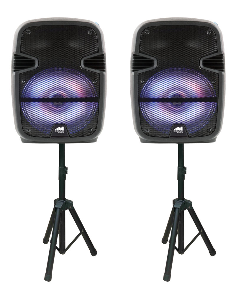 "10.5"" Dual Party Speakers"