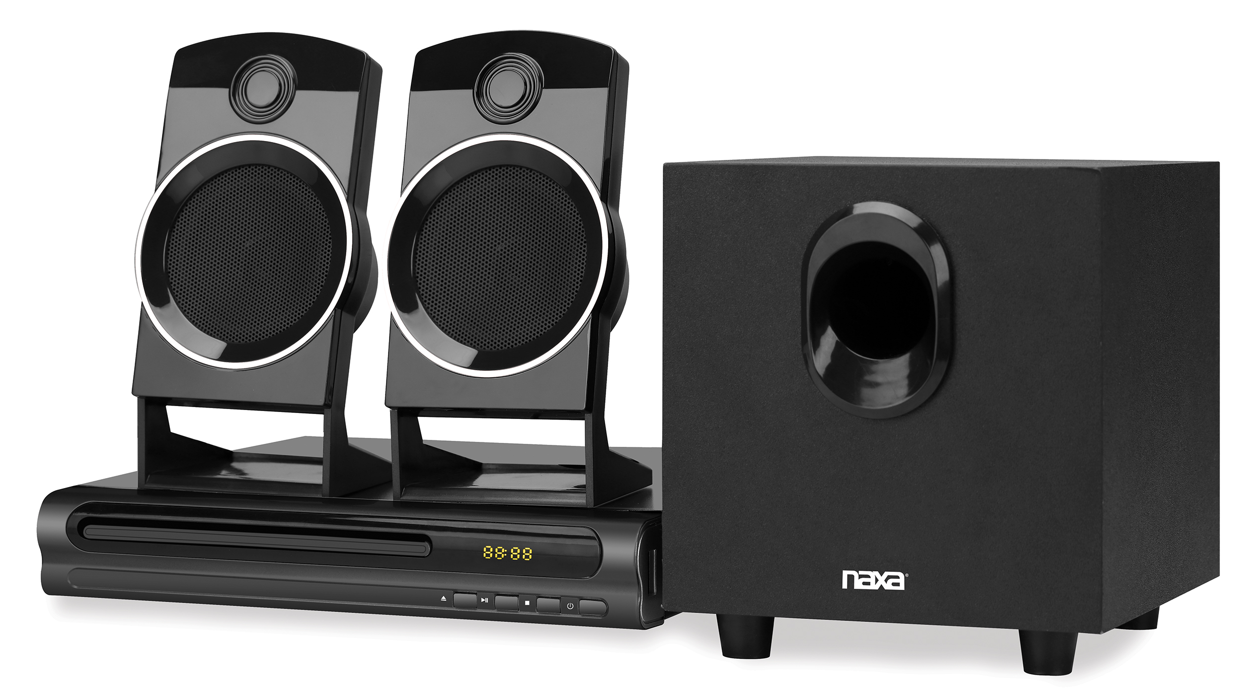 2.1 Channel Home Theater DVD Speaker System