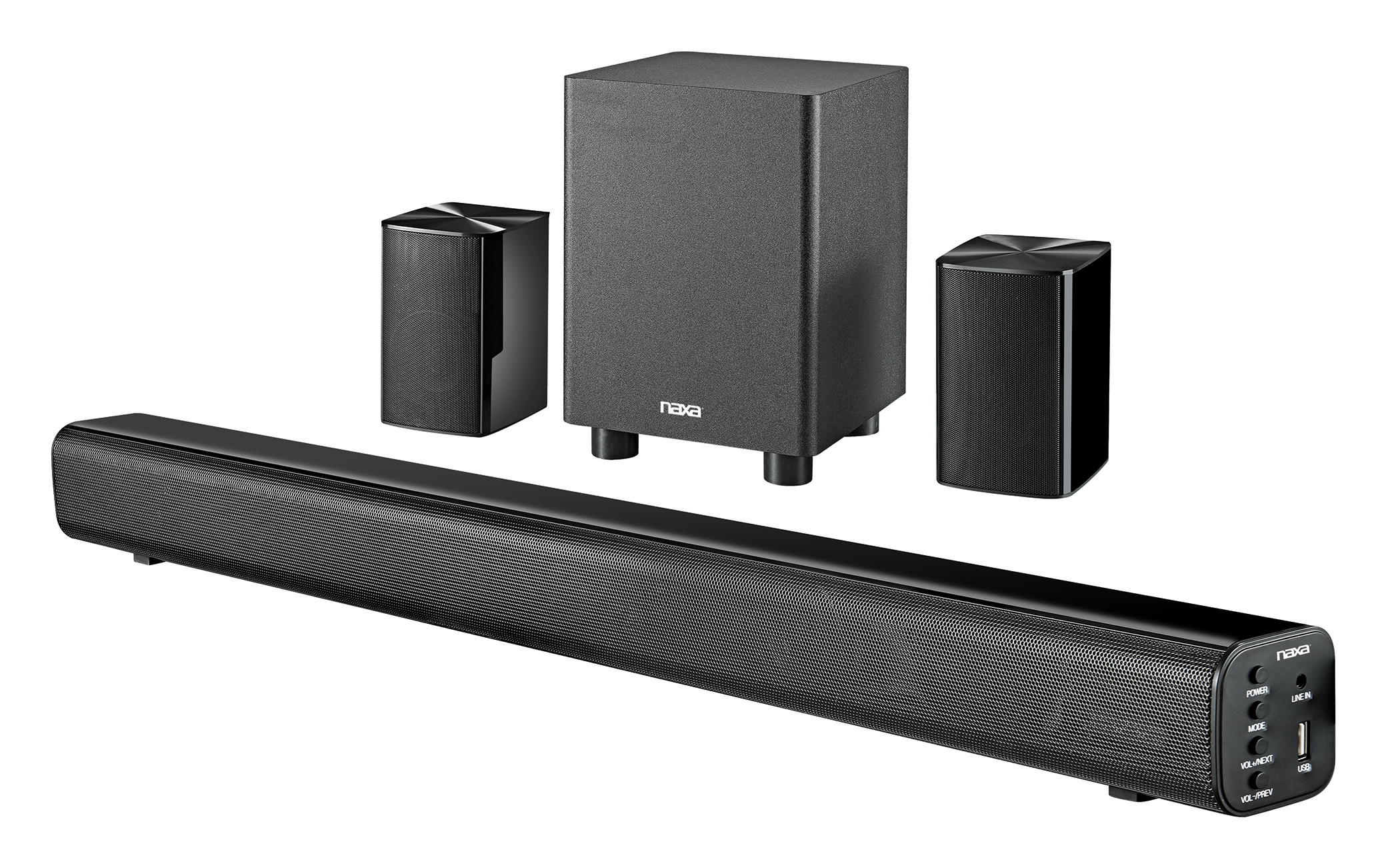 Full Wireless 5.1 Channel Home Theater System